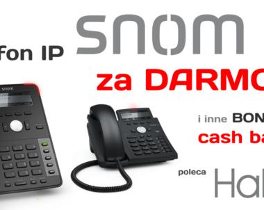 Telefon SNOM za darmo! Oferta od Halo2.