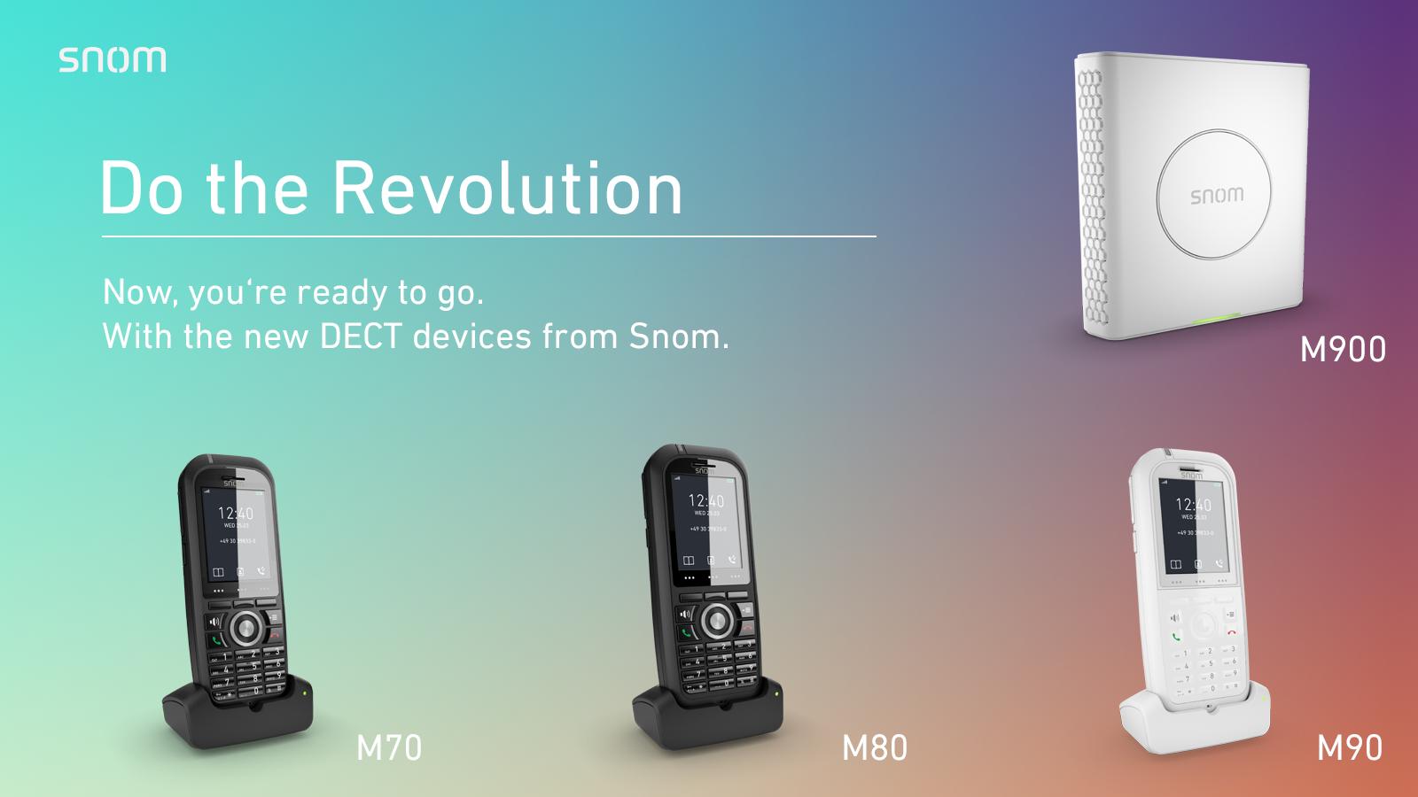 Rewolucyjne rozwiązania SNOM DECT