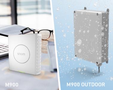 Nowość! Snom M900 Outdoor odporny na warunki atmosferyczne